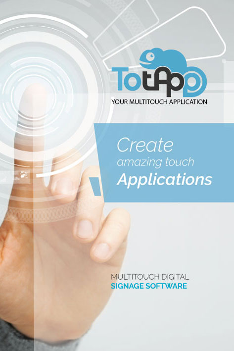 Software aplicación táctil