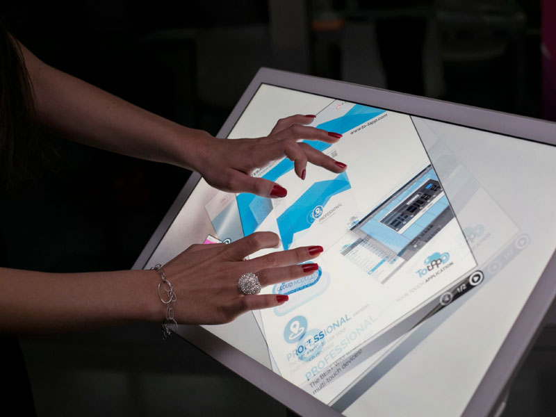 Software Touch Screen
